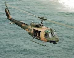 Bell : UH-1 : Iroquois (Huey) (San Diego Air & Space Museum Archives) Tags: ocean newcastle army chopper aviation australia aeronautics iroquois williamtown newcaslte stocktonbeach sdasm
