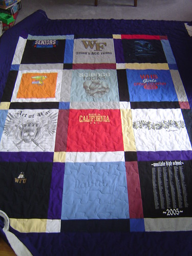 Glass Quilt #1 (Quilted)