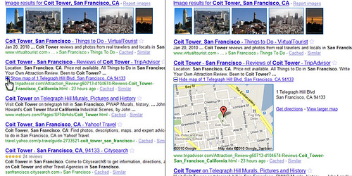 Google Plus-Box Treatment, Coit Tower, San Francisco