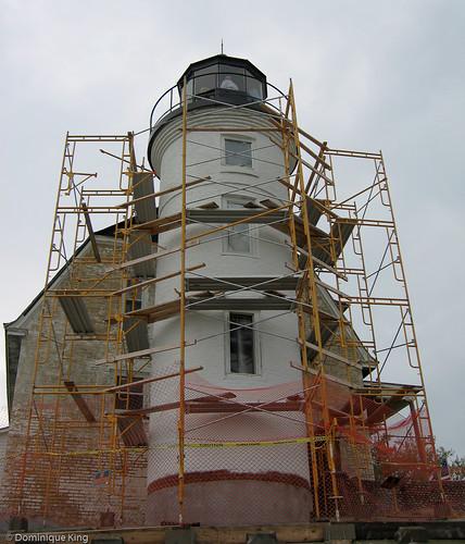 Point Betsie Lighthouse rehab-4