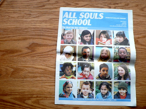 newspaper club - all souls school paper