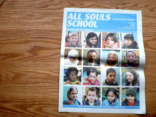 newspaper club - all souls school paper