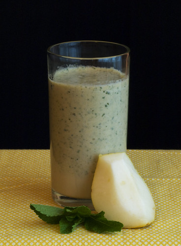 Pear Mint Milkshake