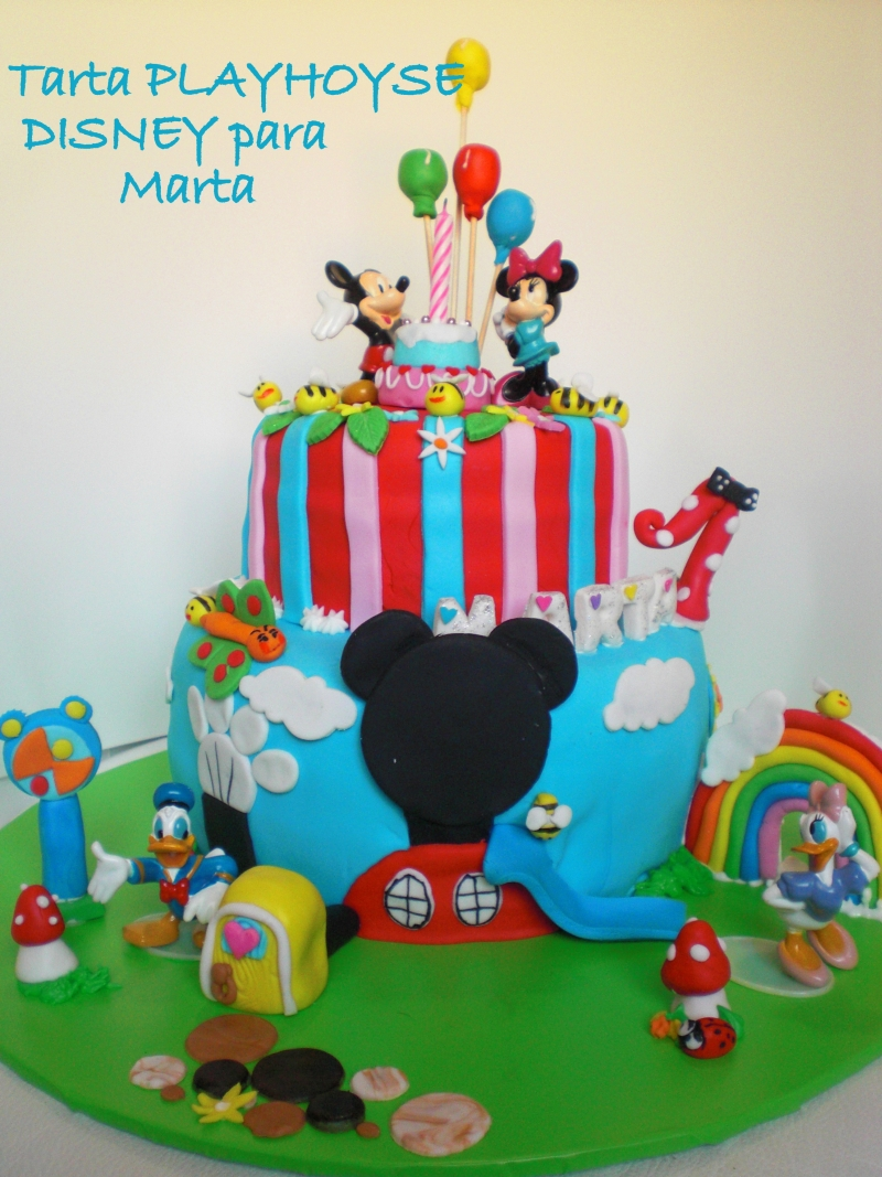 1 Tarta playhouse disney