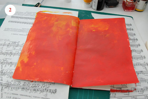 Artbook's background, Step 2