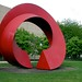 red round sculpture