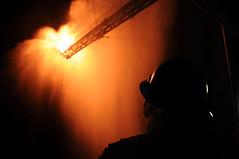 Gas From Damaged Wellhead Being Burned (Deepwater Horizon Response) Tags: louisiana kelley bp drillship deepwaterhorizon
