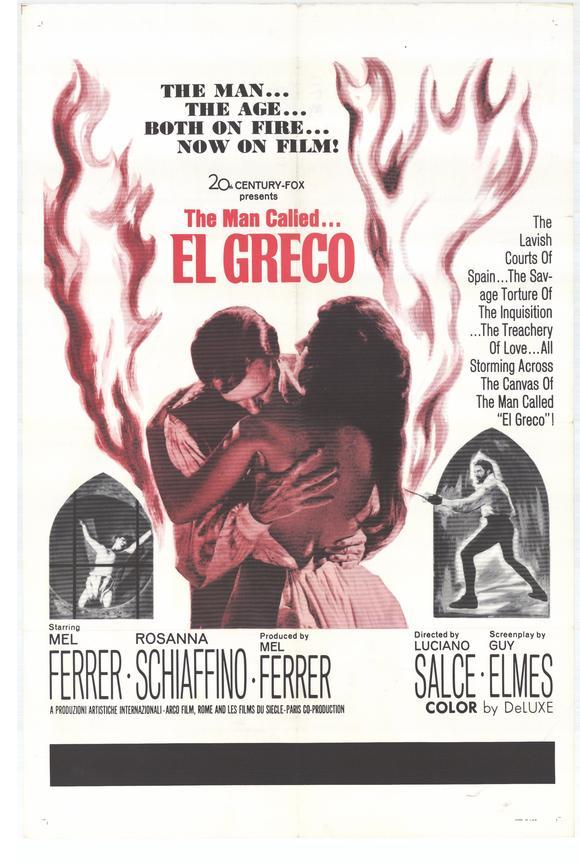 Cartel de El Greco (1966)