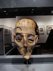 Lurch The Butler Mask from the Addams Family 1183 (Brechtbug) Tags: show from street new york city family art museum for mask circus character cartoon charles made bailey butler avenue chas bros 5th lurch 1965 addams ringling barnum yorker the 103rd 5182010