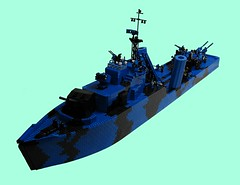 HMCS Virden (Lemelisk) Tags: lego wwii reality warship alternate virden hmcs
