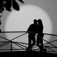 Les amoureux du canal St-Martin par Franck Vervial
