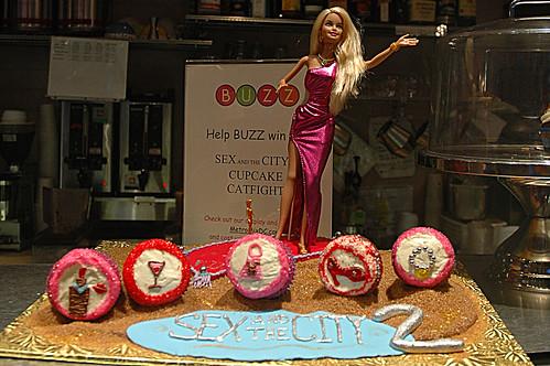 Buzz Bakery Cupcake Display