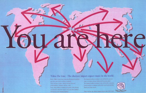« You are here » (Nichi Grauso, 1994)