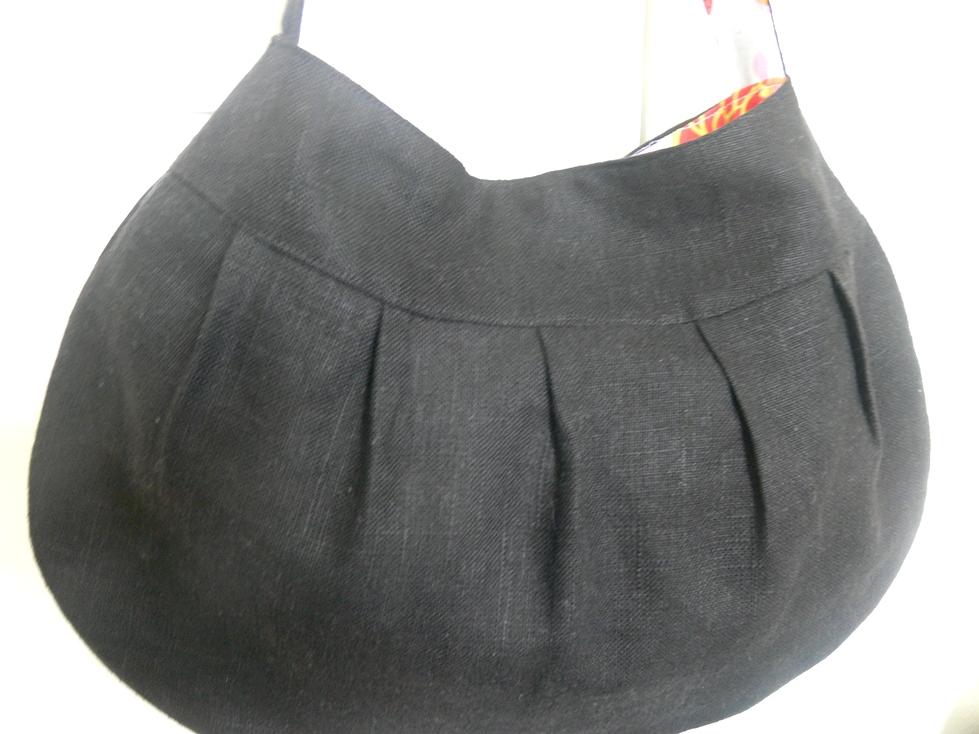 Jenny: Black Linen Buttercup