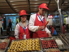 (Majesty) Tags: china food fruit penis hongkong raw sheep market snake beijing gross testicles beetles urchins dripping nasty foodpoisoning