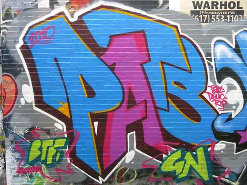 PATS Graffiti Cambridge Wall
