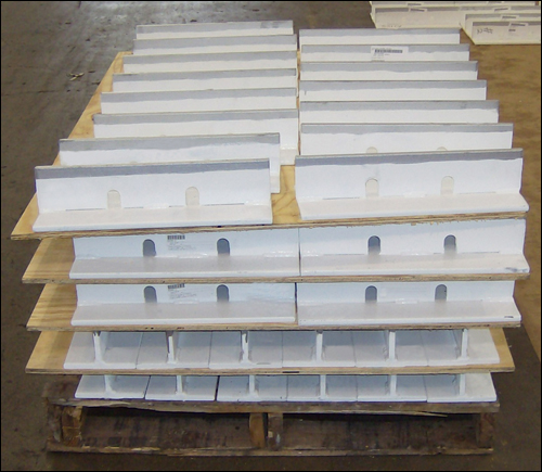 """18"""" Split T Pipe Shoes to Support a Piping System for an Oil Refinery"""