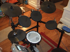 Roland TD-9 V-Drums, Jersey City, NJ, 5/26/10 ...