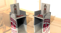 Smirnoff Chair from X-Board Print
