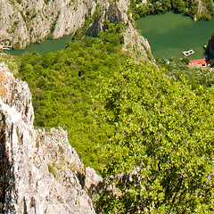 16. Canyon Matka (Gjore) Tags: lake river view canyon macedonia grad matka skopje treska markov