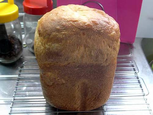 ホームベーカリーで2010年5月27日に作ったパン