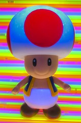 In Another Castle (whitehotphoenix) Tags: mushroom rainbow glow nintendo toad toadstool glowsticks whitehotphoenix whitehotphoenixcom gabealmaraz amandaogletree