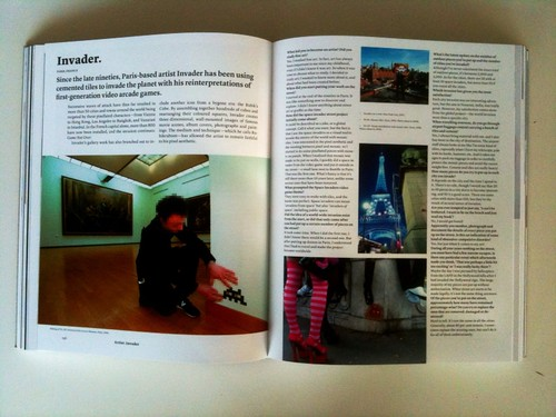 Beyond the Street, the 100 Leading Figures in Urban Art pg 136-137