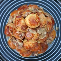 croquembouche (spicyicecream) Tags: may pecanpie croquembouche daringbakers