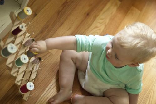toddler in the studio 3