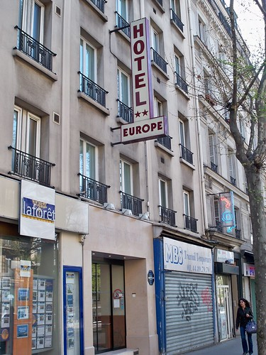 Hotel de l'Europe Paris