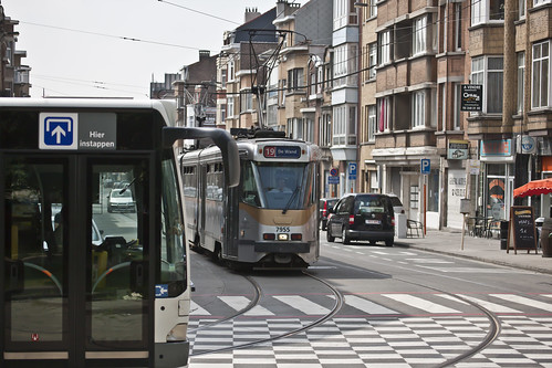 Brussels - 19 Tram Route by infomatique