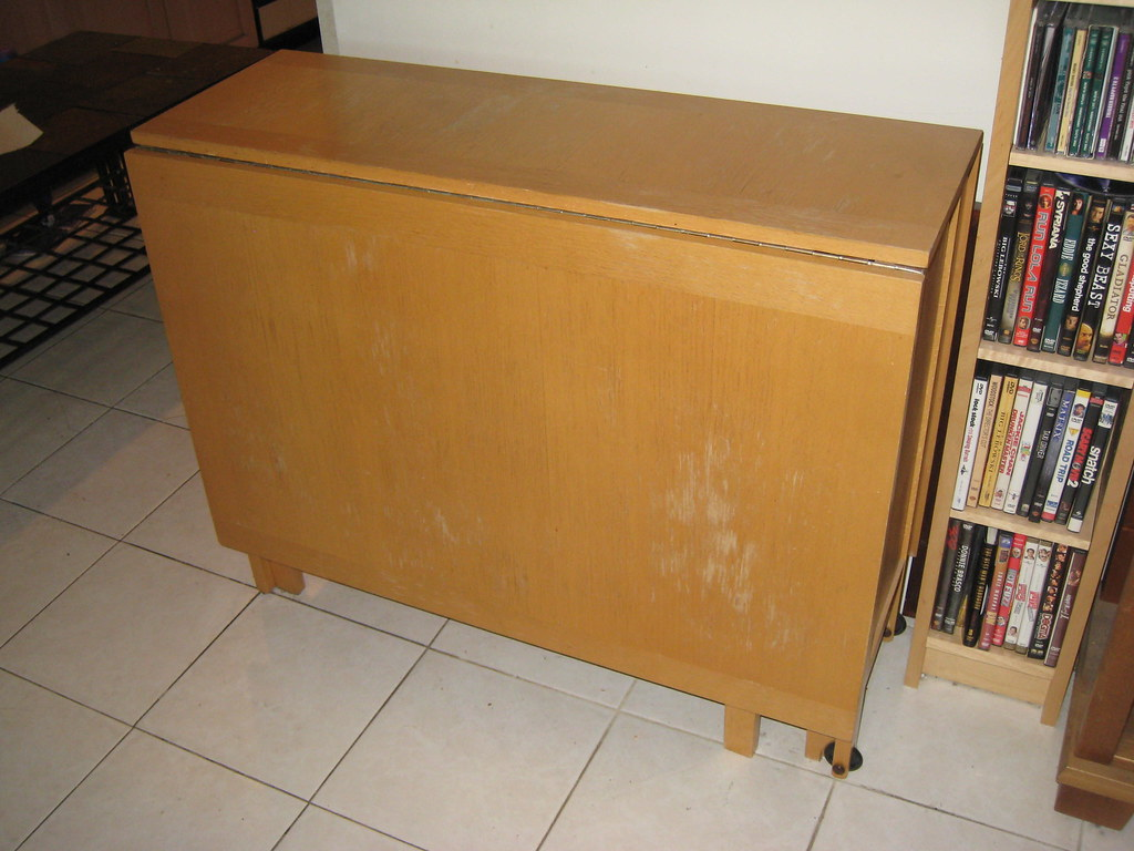 Large pull out table