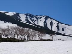 当麻岳のシュート