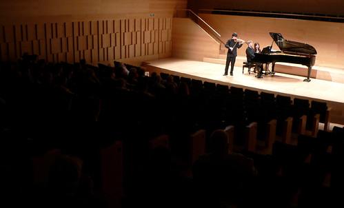 ALEJANDRO BUSTAMANTE (VIOLÍN) Y JOSÉ ENRIQUE BAGARÍA (PIANO) - AUDITORI DE GIRONA - 30.05.10