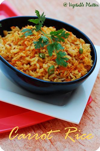 Carrot Rice 1
