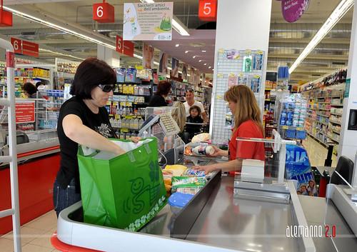 Primo supermercato verde Simply Sma del Lazio
