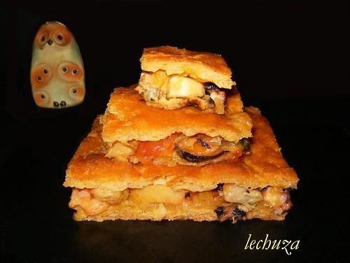 Empanada mariscos-porciones