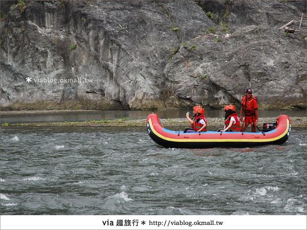 【花蓮旅遊】暑假玩花蓮最消暑的玩法~秀姑巒溪泛舟啦!10