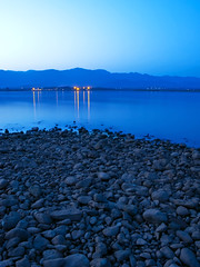 Rawal Lake Blue Hour (Muhammad Fahad Raza) Tags: longexposure blue lake reflections sadness lights evening long exposure dam photographers hills hour pakistani bluehour departure sorrow association islamabad rawalpindi ppa grieve rawallake rawaldam rawal margalahills margala eveninglights eveningreflections pakistaniphotographersassociation islamabadreflection lightsinislamabad eveninginislamabad anislamabadevening islamabadatdusk bluehourinislamabad