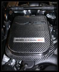 At The Heart of It All (Chris Wevers) Tags: mercedes engine montecarlo monaco panasonic e mercedesbenz tuning dmc brabus v12 biturbo fz50 topmarques w212 ev12 chriswevers