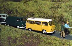 Where is The VW Camper Van Meet? (Man of Yorkshire) Tags: vw volkswagen van camper westfalia 176 oogauge oxforddiecast