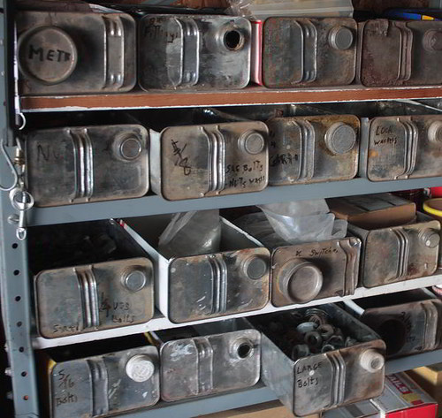 Gas can drawers