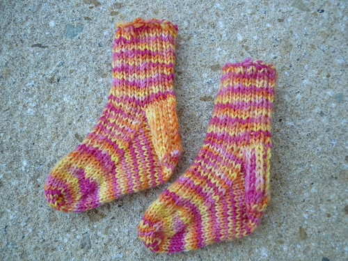 Socks for Mathilda