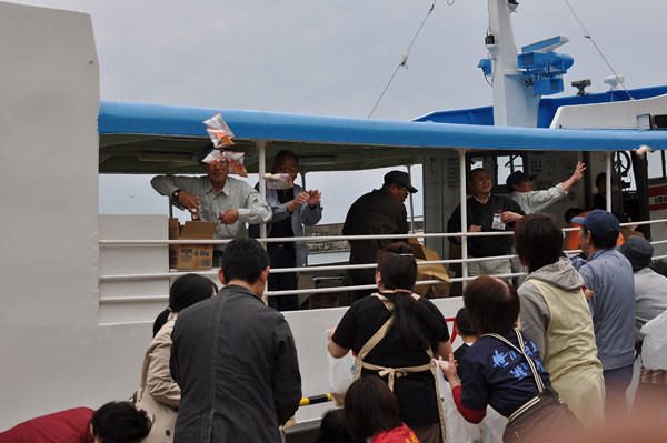 A cruise memory ceremony