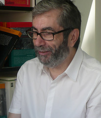 Antonio Muñoz Molina también visita la Feria d...