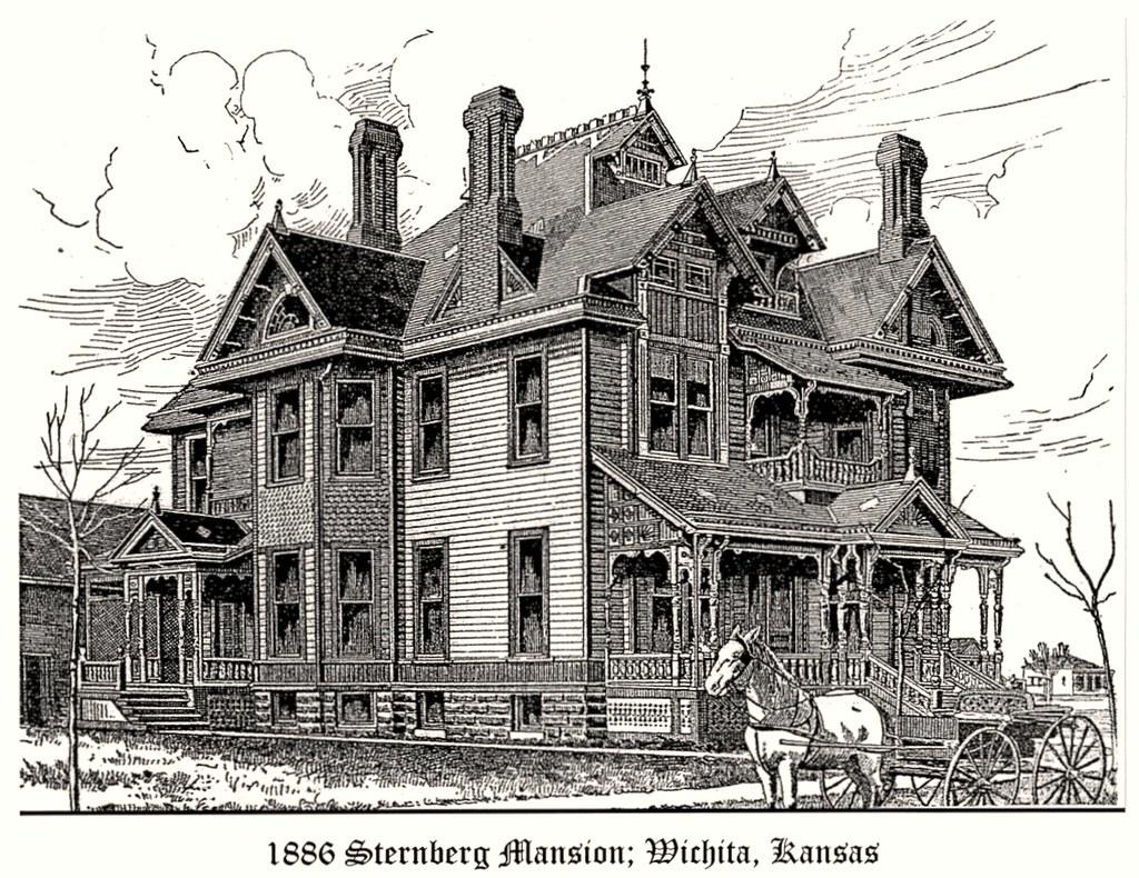 Sternberg Mansion; Wichita, KS