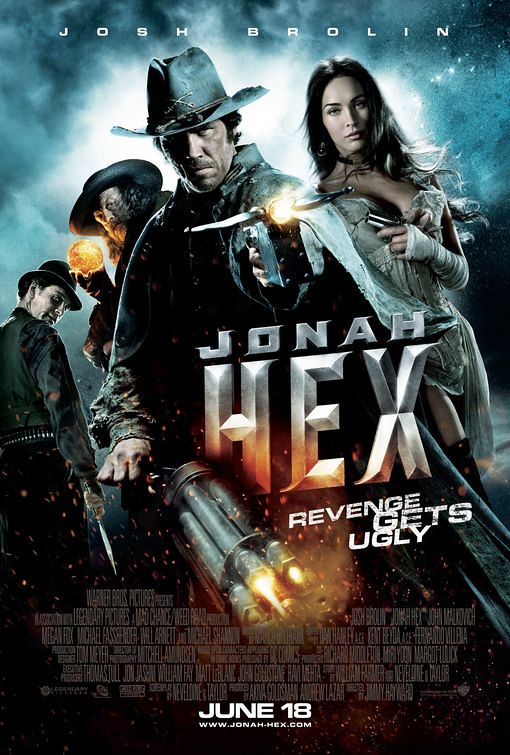 official Jonah Hex 2010 movie poster