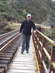 Where the train go (a-dinosaur) Tags: new railway zealand dunedin gorge the taieri