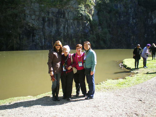 Solange, Dona Esperança, Bel e Sandra Jay.Foto: Bel Colmenero