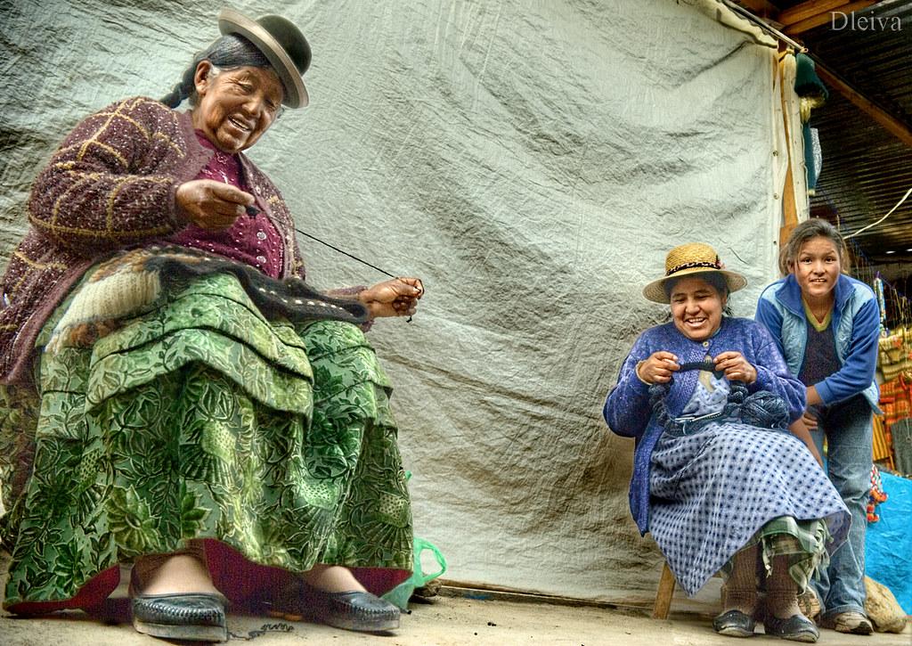 anciana chicas peruanas